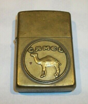 Vintage 1932-1991 CAMEL Cigarettes Advertising ZIPPO Lighter