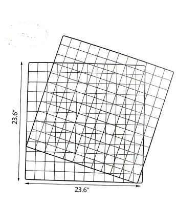 Wall Grid Panel 4 Pack 23.6 X 23.6