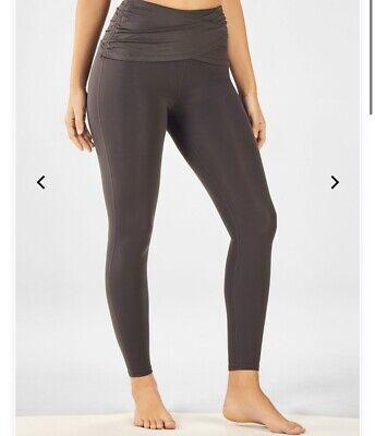 Fabletics Womens Leggings Cashel High Waisted Size XXS - Gray/Iron