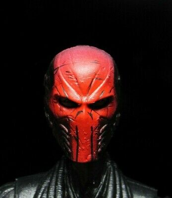 HEAD ONLY Star Wars custom painted head Marvel Legends Punisher Red