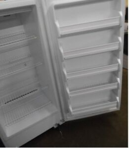 17 cubic ft upright freezer