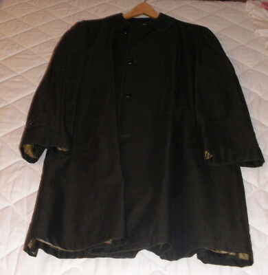 Vintage Plymouth Of Boston Weather Ready Coats Large Classy Trench Overcoat
