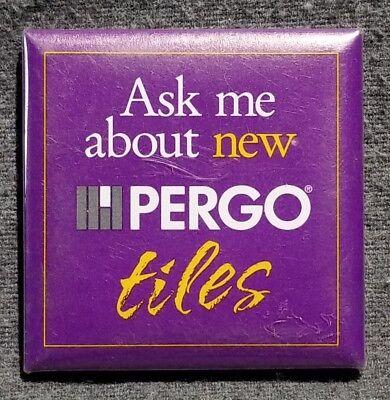 LMH Button Pin PERGO TILES Tile Flooring Hardwood HOME DEPOT Employee ASK ME  ()
