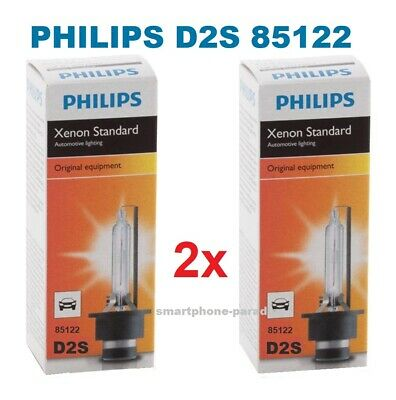 2x Philips D2S Xenon Brenner 85122 Für OPEL BMW MERCEDES PORSCHE Scheinwerfer