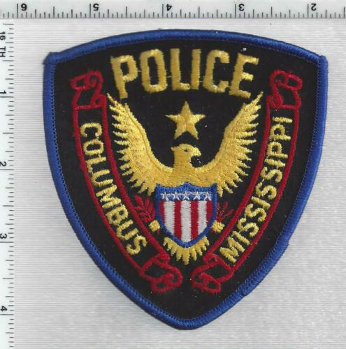Columbus Police (Mississippi) 2nd Issue Shoulder Patch