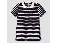 Victoria Beckham designer short sleeve top