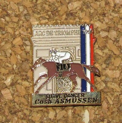 B10 PIN ARC DE TRIOMPHE 1991 SUAVE DANCER HORSE CASH ASMUSSEN FRANCE PARIS