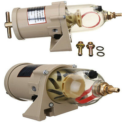 60 GPH Diesel Marine Boat Fuel Filter / Water Separator, used for sale  Shipping to South Africa