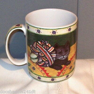BLOCK 1995 COUNTRY KITTENS Ceramic Mug by Gear
