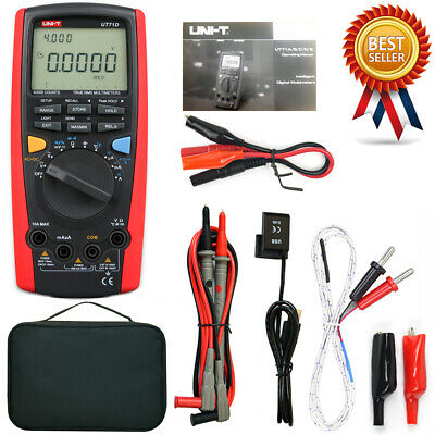 Uni-t Ut71d Rms Digital Multimeter Tester Dmm Usb Auto Data Log Ac Dc Power