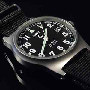 MWC G10 LM Military Watch Black Strap, Date, 50m Water Resistance NEW BOXED
