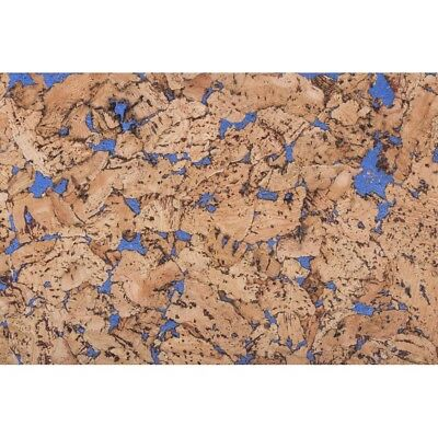 Kork Wandfliesen Dekorativ Blau 60cm X 30cm (11 Pack) Gesamt 1,98 M2 - Dekorative Wand-fliesen