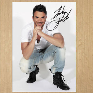 PETER ANDRE Signed Photo...LOOK...BIGGER...8