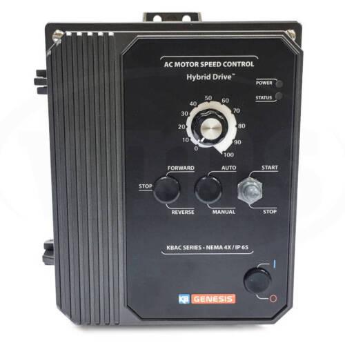KB Electronics KBAC-27D Adjustable Frequency Drive, 9520, 1/8-2HP, NEMA 4X/IP65