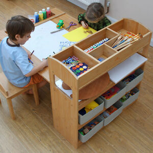 Childrens Table And Two Chairs Arts Crafts Activity