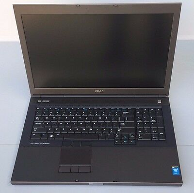 "Dell Precision M6800 17.3"" Quad Core 2.90GHz, 3.90GHz Turbo, 8GB, w/HD 1080x1920"