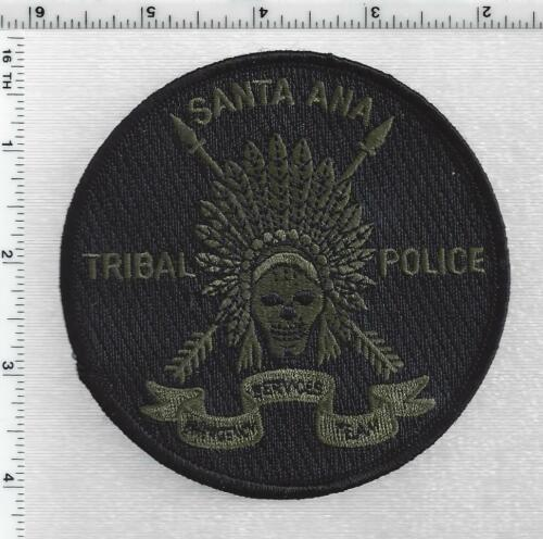 Santa Ana Tribal Police (New Mexico) 2nd Issue Subdued Shoulder Patch
