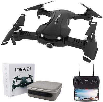 le-idea IDEA21 Foldable FPV Drone with 4K Camera for Adults 5G WIFI Transmission