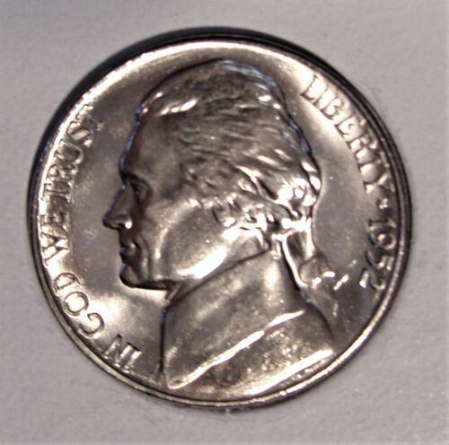 1952 S BU Jefferson Nickel Pulled From OBWRoll
