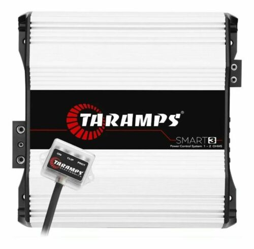 TARAMPS SMART 3 AMPLIFIER 1OR 2OHM CLASS D 3000 WATT RMS FREE SAME DAY SHIPPING