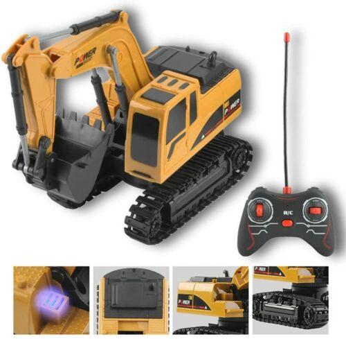 RC Bagger Ferngesteuert Muldenkipper 1:24 2.4G Baufahrzeug Sandspielzeug Kinder