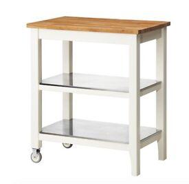 Kitchen storage trolley(butcher block style) IKEA STENSTORP