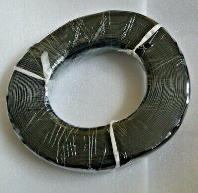 22 Awg Gauge Stranded Wire Black 50ft 300 Volts