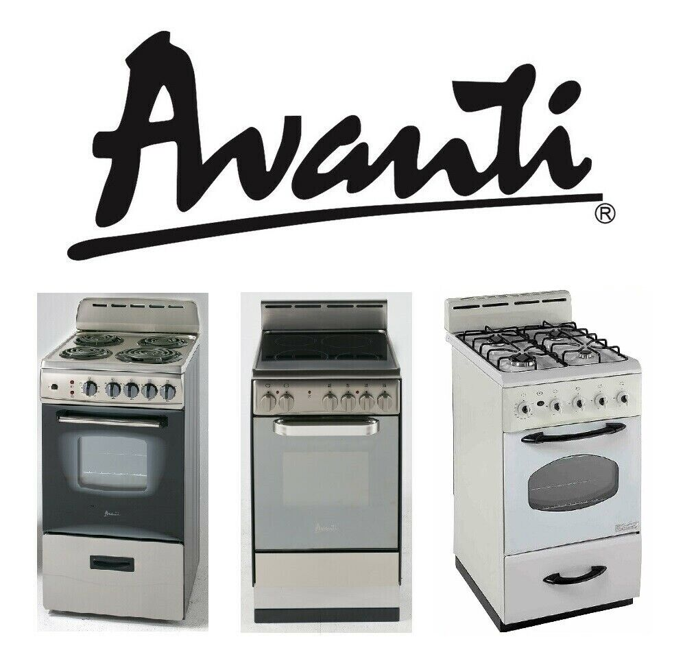 "Avanti Products - 20"" to 24"" Ranges, Gas, Electric Coil, and"