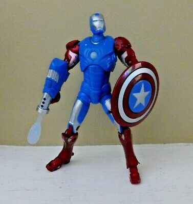 Iron Man Captain America Suit (Iron Man Captain America Suit 6'' Figure 100%)