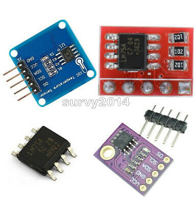 Lm75a Temperature Sensor High-speed I2c Interface Development Board For Arduino