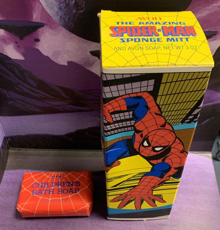 Spider-man Soap Avon 1980 Vintage Marvel Comics New Old Stock