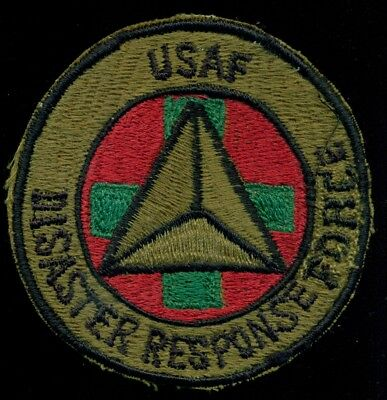 Used, USAF Disaster Response Force Patch J-14 for sale  Shipping to United States