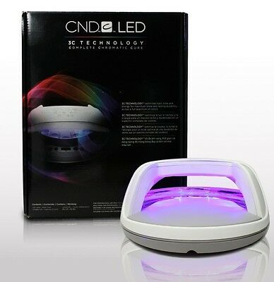 CND Professional LED Lamp Cures Shellac & Brisa For Gel Nails **UK ADAPTOR** x6