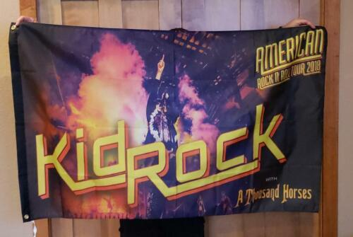 Kid Rock Chillin the Most cruise flag banner mancave flag Huge 3x5 ft CTM
