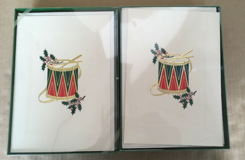 New In Box Vintage Holiday Greeting Cards 40 Total Christmas New Year