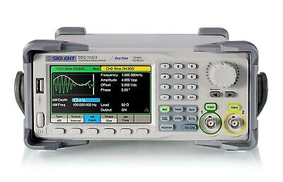 Siglent Technologies Sdg1032x Arbitrary Waveform - Function Generator Used
