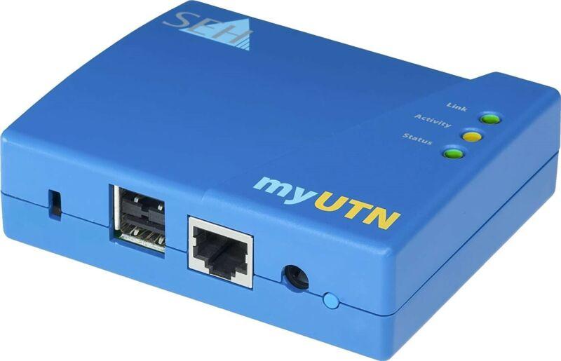 Seh myUTN-50a - Device Server - 10Mb LAN, USB, 100Mb LAN, GigE, USB 2.0 (M05032)