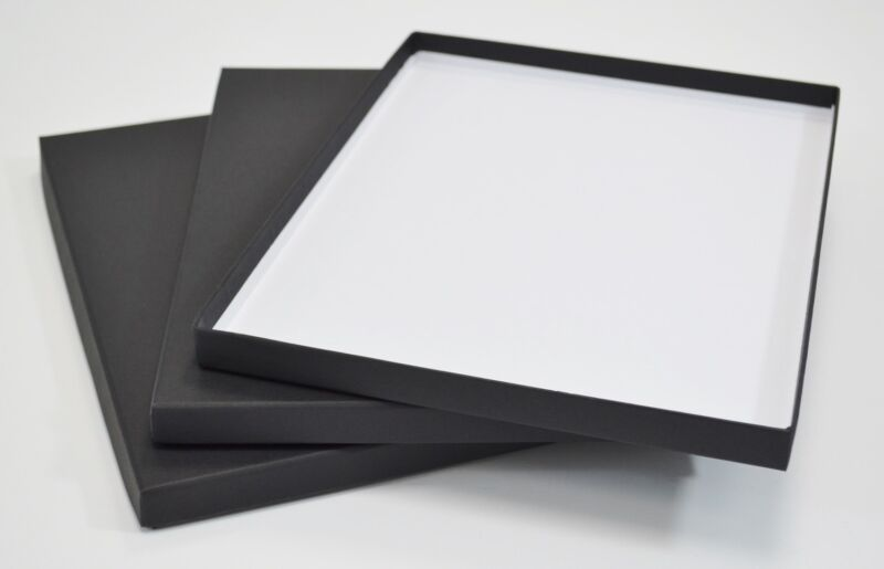 "11x14"" Photographic Archival Print Presentation 15mm Storage Portfolio Box"