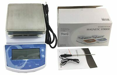 Digital Thermostatic Magnetic Stirrer Hotplate Mixer 0-1250rpm Ms300