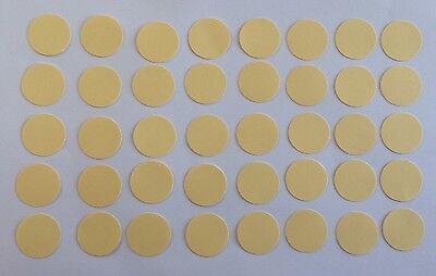 40 Kreise Hellgelb Tonpapier 2,5 cm Stanzteile/Streuteile (Gelber Kreis Papier)
