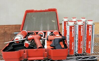 Hilti Cf-ds1 Cf 120-p2 Gun Foam Dispenser Lot 8 Cf 128 Cf 124 Filler Foam Set 2