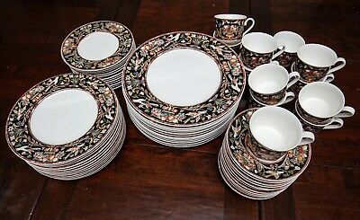 Villeroy & Boch Gallo Intarsia 60 Piece~12 Place Settings Dinner Salad Plate Set](Boch Shoes)