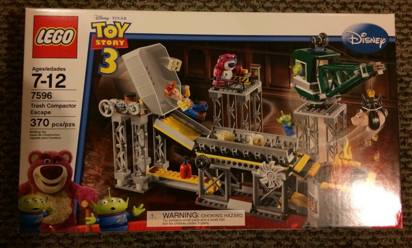 7596 toy story trash compactor escape brand
