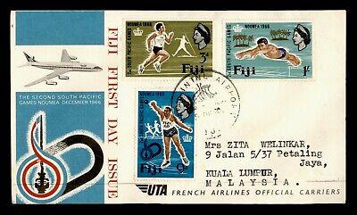 1966 FIJI FDC NOUMEA PACIFIC GAMES