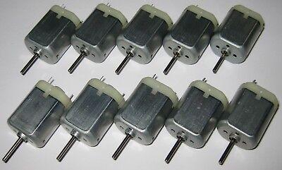10 X 280 Mabuchi Dc Motor Mini Generator - 12 Vdc - Generate 1 V Per 800 Rpm