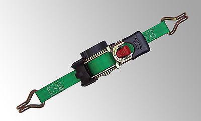 4x Automatik Spanngurt/ Automatischer Zurrgurt 3m x 25mm 300daN selbstaufrollend