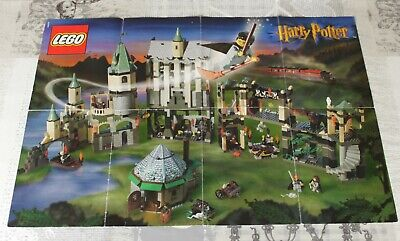 Lego Vintage Harry Potter Poster