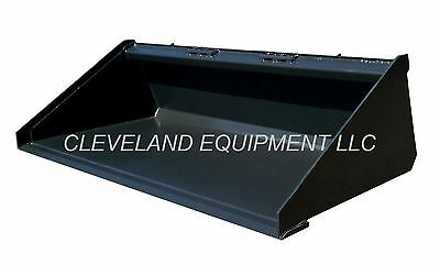 New 66 Long Bottom Bucket Skid Steer Loader Attachment Terex Thomas Volvo Gehl