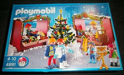 Playmobil Adventskalender Weihnachtsmarkt