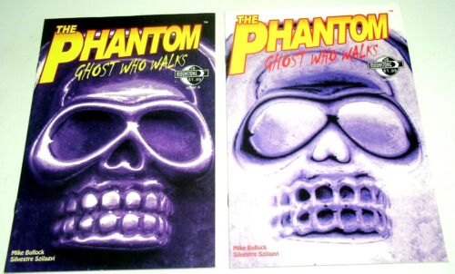 PHANTOM THE GHOST WHO WALKS 0A AND 0B   TWO MOONSTONE ISSUES